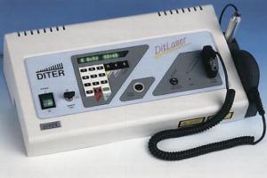 Diterin valmistama laserlaite